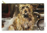 Waiting For Master   Carry-all Pouch by Jane Bennett Constable