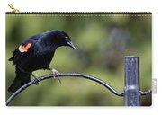 Waiting For Suet Carry-all Pouch