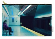 Waiting For The Train Carry-all Pouch