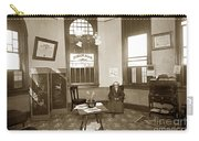 Waiting Room Of Dr. C. H. Pearce, D.d.s. Dentist, Watsonville,  Carry-all Pouch