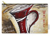 Wake Up Call Original Painting Madart Carry-all Pouch by Megan Duncanson