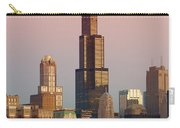 Wake Up Chicago Carry-all Pouch by Sebastian Musial