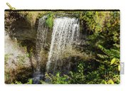 Walcott Waterfall Panorama Carry-all Pouch by William Norton