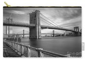 Walk Along The East River Carry-all Pouch