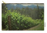 Walk In The Vineyard Carry-all Pouch