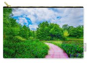 Walk Into Beauty Shaw's Nature Reserve Wet Lands Carry-all Pouch