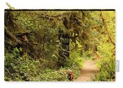Walk Into The Forest Carry-all Pouch by Carol Groenen
