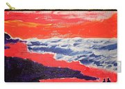 Walk On The Beach Carry-all Pouch
