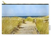 Walk To The Beach Carry-all Pouch
