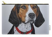 Walker Coonhound - Cooper Carry-all Pouch by Megan Cohen