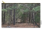 Walking In The Pine Forest Carry-all Pouch