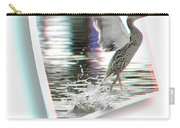Walking On Water - Use Red-cyan 3d Glasses Carry-all Pouch