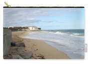 Walking The Beach In St Kitts Carry-all Pouch