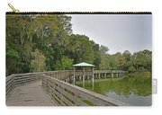 Walkway At Lake Dora Carry-all Pouch