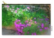 Wall Flowers, Croatia Carry-all Pouch