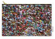 Wall Of Chewing Gum Seattle Carry-all Pouch