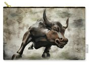 Wall Street Bull Viii Carry-all Pouch
