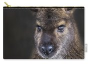 Wallaby Portrait Carry-all Pouch