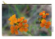 Wallflower Wildflower Carry-all Pouch