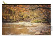 Walnut Creek In Autumn Carry-all Pouch
