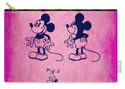 Walt Disney Mickey Mouse Toy Patent 2g Carry-all Pouch