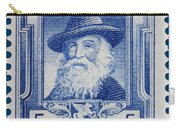 Walt Whitman Postage Stamp Carry-all Pouch