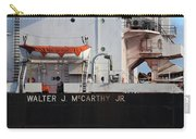 Walter J. Mccarthy Jr. Closeup 112917 Carry-all Pouch