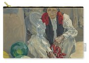 Walter Ufer 1876-1936 Stringing Chili Peppers Carry-all Pouch