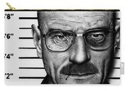 Walter White Mug Shot Carry-all Pouch