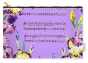 Waltz Of The Flowers Dancing Iris Carry-all Pouch