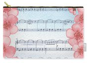 Waltz Of The Flowers Dancing Pink Carry-all Pouch