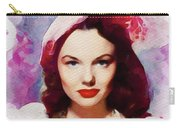 Wanda Hendrix, Vintage Movie Star Carry-all Pouch