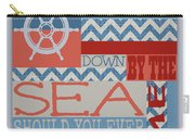 Wander Down By The Sea Carry-all Pouch