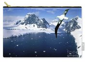 Wandering Albatross Over The Le Maire Channel Carry-all Pouch