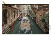 Wandering The Beautiful Venice Canals Carry-all Pouch