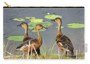 Wandering Whistling Ducks Carry-all Pouch