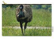 Wanding Ostrich Carry-all Pouch