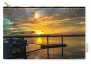 Wando River August Sunset Carry-all Pouch