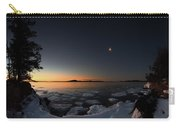 Waning Crescent Over Sturgeon Bay Carry-all Pouch