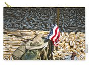 War Dogs Sacrifice Carry-all Pouch by Carolyn Marshall