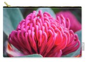 Waratah -a Crimson Beauty Carry-all Pouch