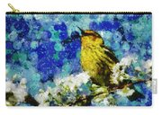Warbler Of Spring Carry-all Pouch