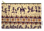 Warli Procession Carry-all Pouch