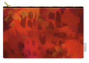 Warm Abstract 1 Carry-all Pouch