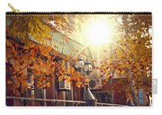 Warm Autumn City. Warm Colors And A Large Film Grain. Carry-all Pouch