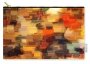 Warm Colors Abstract Carry-all Pouch