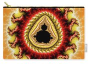 Warm Colors Orange Yellow Red Mandelbrot Fractal Carry-all Pouch