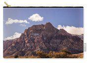 Warm Light In Red Rock Canyon Carry-all Pouch