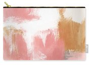 Warm Spring- Abstract Art By Linda Woods Carry-all Pouch by Linda Woods