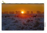 Warm Sunrise In Winter Carry-all Pouch